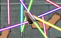 Lasersword Accident